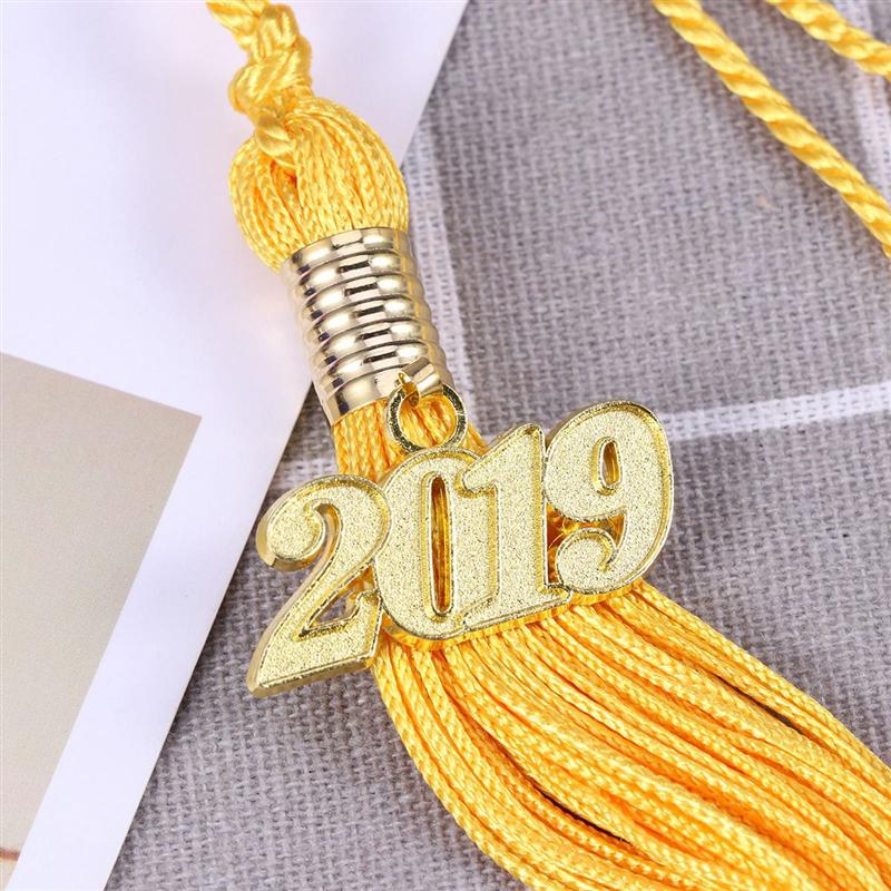 1 PC 2019 Graduation Season Reusable Gown Tassel Decoration For Class Of Academic Graduation Ceremony Party 18 Colors in Party DIY Decorations from Home Garden