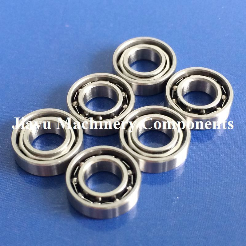 Free Shipping 10 PCS Open Type MR105 Bearings 5x10x3 Mm Miniature Ball Bearings L-1050