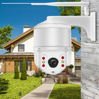 Home Security Wireless Smart IP Camera Waterproof Wifi Monitor Motion Detection 1080P HD Automatic Tracking 2 Way Camera