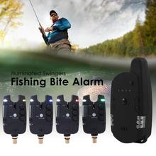 JY-59 Wireless Carp Fishing Bite Alarm Fishing Rod Illuminated Swingers Anti-off Bar Alert Set Fishing Tackle Tool