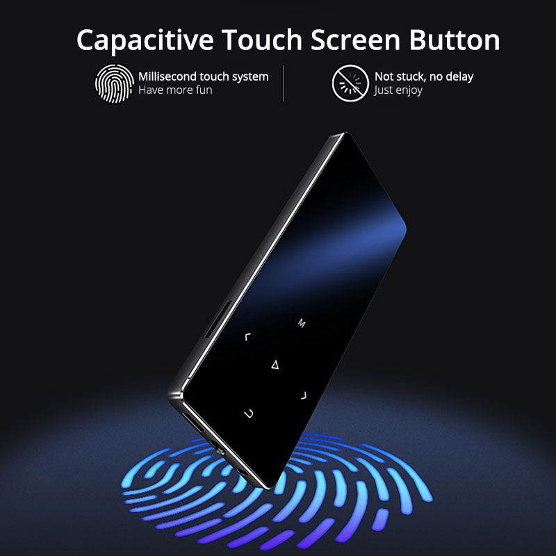 Touch Screen Audio Mp3 Player 4