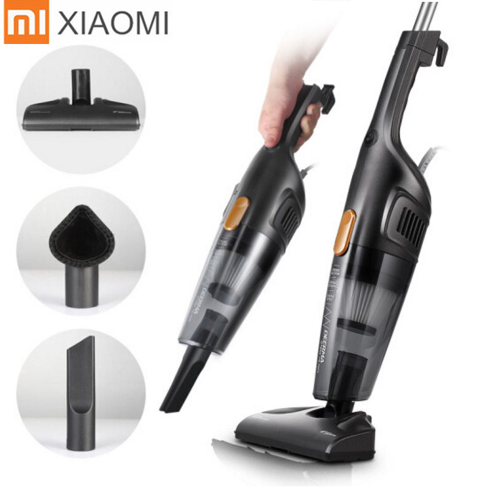 xiaomi deerma handheld vacuum cleaner home silent vacuum cleaners strong suction portable dust. Black Bedroom Furniture Sets. Home Design Ideas