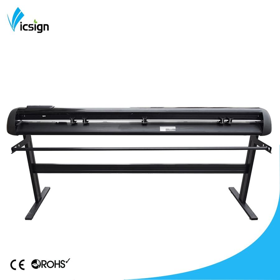 Китай Vicsign экономической модели HL1600 + стенд Artcut 64 винил Режущие плоттеры машины для графический дизайн маркер для ткани плоттеры