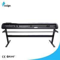 China Vicsign Economic Model HL1600+stand+Artcut 64 vinyl cutting plotters machines for graphic design textile pen plotters