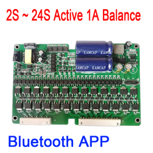 2S 24S 1A פעיל אקולייזר Bluetooth APP BMS ליתיום Lifepo4 Titanate ליתיום סוללה איזון 4S 7S 8S 10S 12S 13S 14S 16S 20S