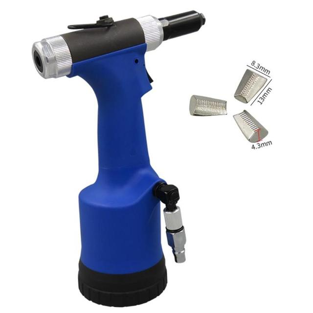 Pneumatic Air Hydraulic Rivet Gun Riveter Industrial Nail Riveting Tool Suitable for Aluminium/ Iron /Stainless Steel Nails 1