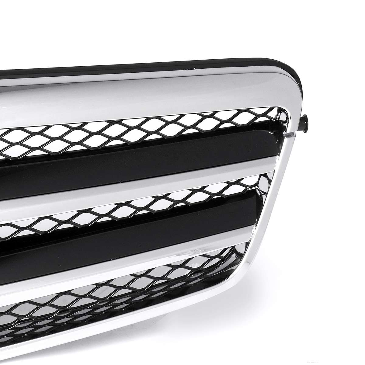 For AMG Style Car Front Grill Grille For Mercedes For Benz W212 E250 E550 E350 E63 For AMG 2010-2013 Racing Grills Sedan 4Dr