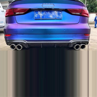 Modified Accessory Auto Modification Decoration Accessories Tuning Rear Diffuser Front Car Lip Bumpers 17 FOR Audi RS3