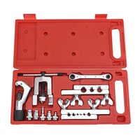 Flaring Swaging Tool Set Tube Cutter Pipe Repair Refrigeration Expander W/ Case 38x17.5x4cm Hand Tool Sets