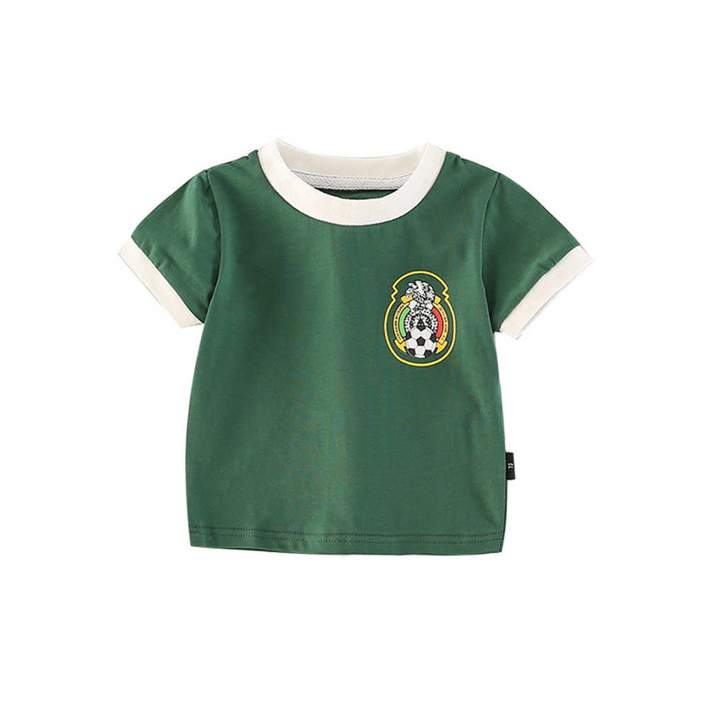 ec03f2ba Clearance Sale Baby Summer Tshirt Toddler Baby Boys Girls World Cup  Football Soccer Jersey Shirts Outfit Baby Clothes