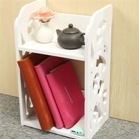 Simple Desktop Bookshelf Detachable Shelf Desktop Small Bookcase Student Dormitory Office Small Bookcase Shelf