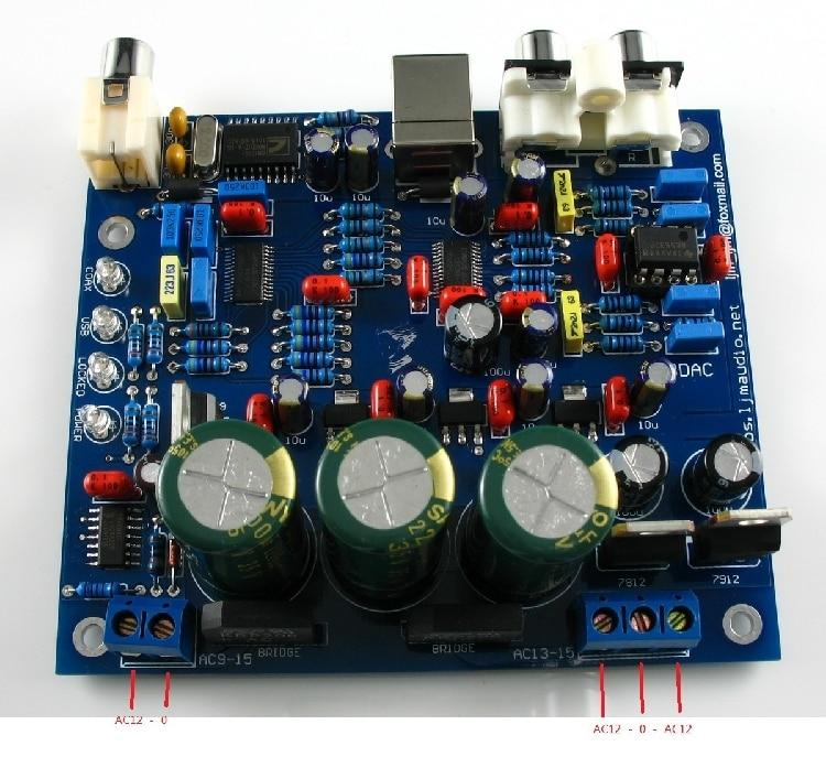 CS4398 DAC USB Coaxial 24/192K PC Music audio decoder DIY circuit board Finished product|DAC| |  - title=