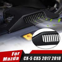 Car Engine Air Vent Outlet Protective Grill Cover Protector Sticker For Mazda CX-5 CX5 2017 2018