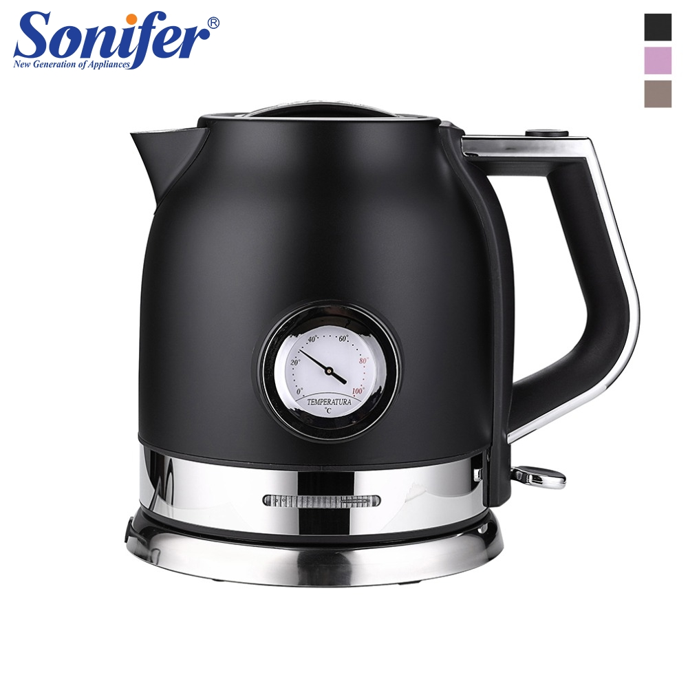 1 8l Colorful 304 Stainless Steel Electric Kettle With