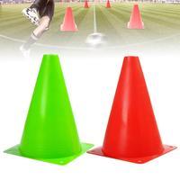 10 шт./компл. Пластик футбол Футбол для баскетбольных тренировок, с защитой от ветра знак конус барьер