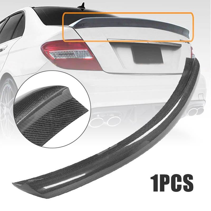 REAL Carbon Fiber Highkick Trunk Spoiler For Benz W204 C250 C300 C63 AMG 08-14