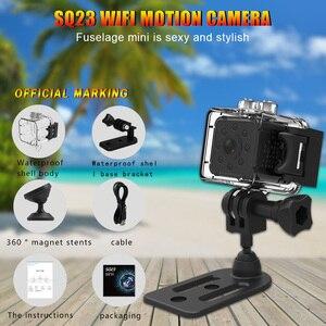 Image 5 - Original SQ23 sq13 WiFi Cam Mini Camera Camcorder Full HD 1080P Sport DV Recorder 155 Night Vision Small Action Camera DVR SQ11