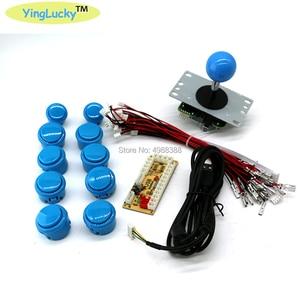 Image 5 - Arcade Joystick DIY Kit Zero Delay Arcade DIY Kit USB Encoder To PC  Arcade Sanwa Joystick and Push Buttons For Arcade Mame