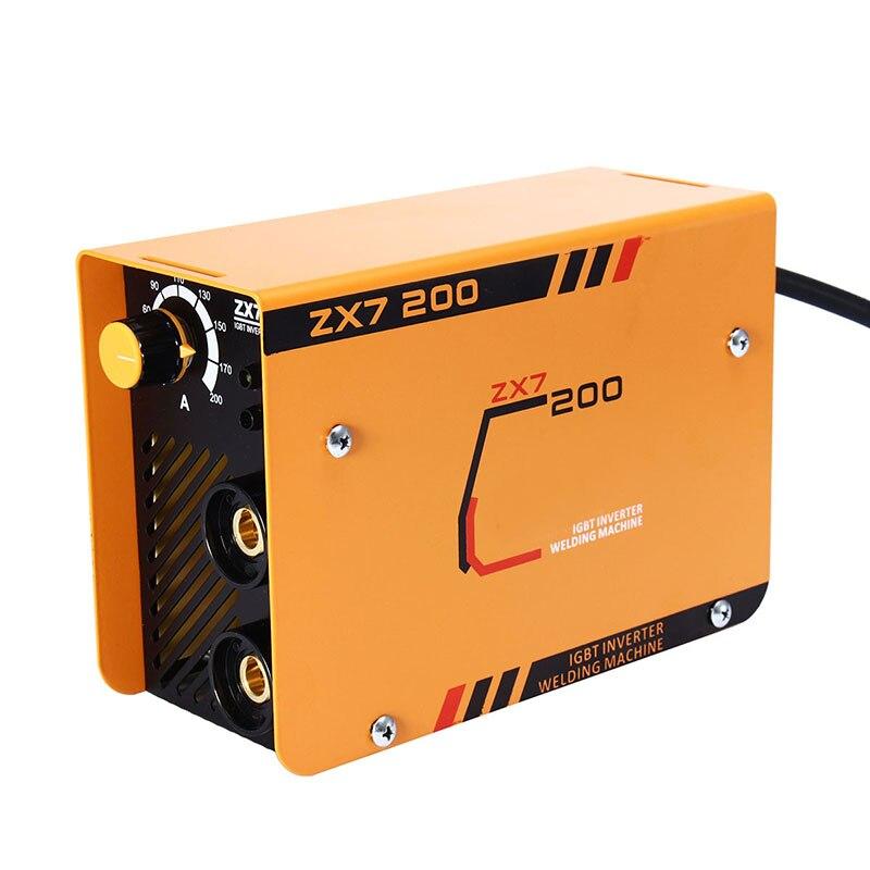 Soudeurs électriques de ménage 220 V soudeurs portatifs de MIG TIG équipement de soudage d'inverseur Machine de soudage à l'arc 200A noyau de cuivre IGBT