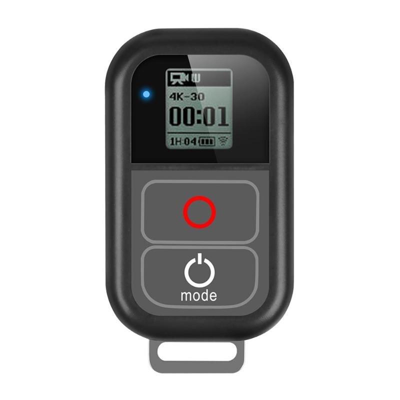 Télécommande WiFi sans fil intelligente étanche pour GoPro Hero 4 5 6 7 accessoires de caméra noire avec câble de Charge