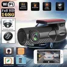 WiFi Auto DVR Auto Registrar 170 Gradi Dash Cam Wireless Auto Camion Video Registratore Videocamera del Precipitare Della Macchina Fotografica di Visione Notturna