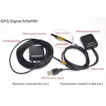 Universal GPS Antenna Navigation System Amplifier Car Signal Repeater Receiver Transmitter Vehicle GPS Signal Amplifier Booster
