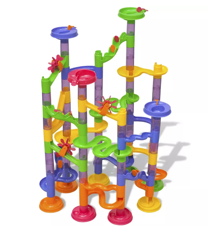 VidaXL Colorful And Solid Ball Circuit For Children Plastic Ball Track For Kids Training Of Practical Ability And CreativityVidaXL Colorful And Solid Ball Circuit For Children Plastic Ball Track For Kids Training Of Practical Ability And Creativity