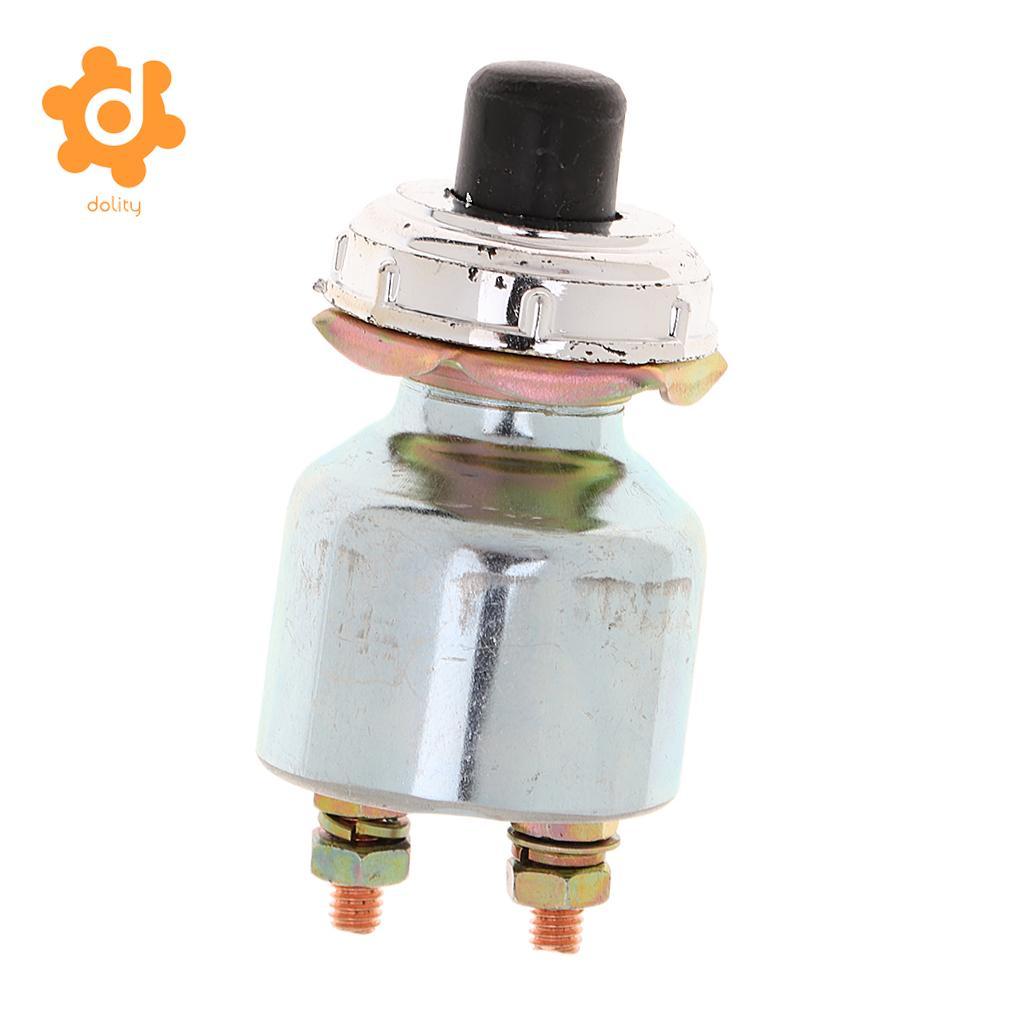 Safety 12V Engine Start Push Button Switch Ignition Starter K260