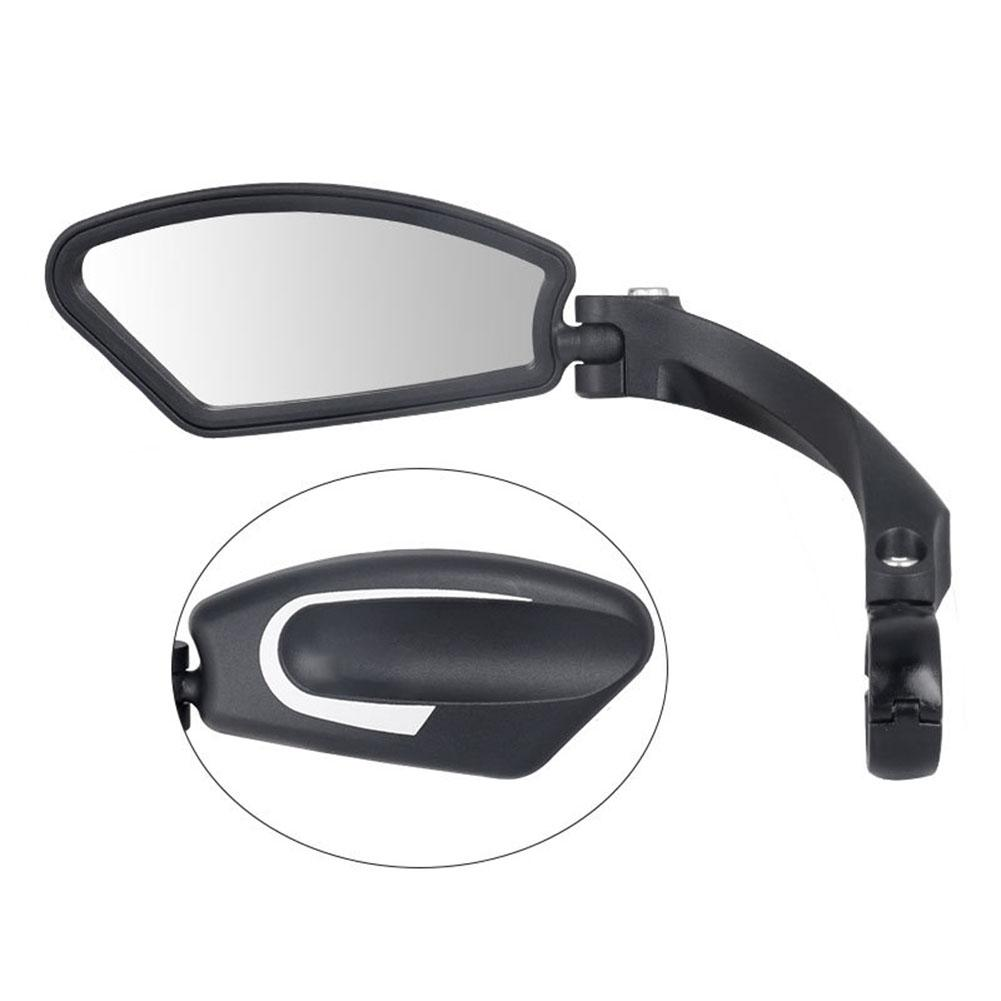 Mounchain 1 PC Bike Rearview Mirror Universal Stainless Steel Lens Handlebar MTB Bike Safe Rearview Mirror