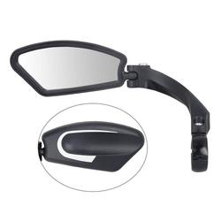 Mounchain 1 PC Bike Rearview Mirror Universal Stainless Steel Lens Handlebar MTB Bike Safe Rearview Mirror bicycle Accessories