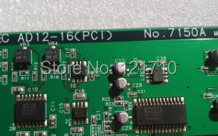 Industrial equipment board CONTEC AD12-16(PCI) NO.7150AIndustrial equipment board CONTEC AD12-16(PCI) NO.7150A