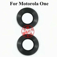 100 pcs/lot Original Back Camera Glass Lens cover case For Motorola one P30 Play XT 1941 2 Rear Glass lens Replacement parts