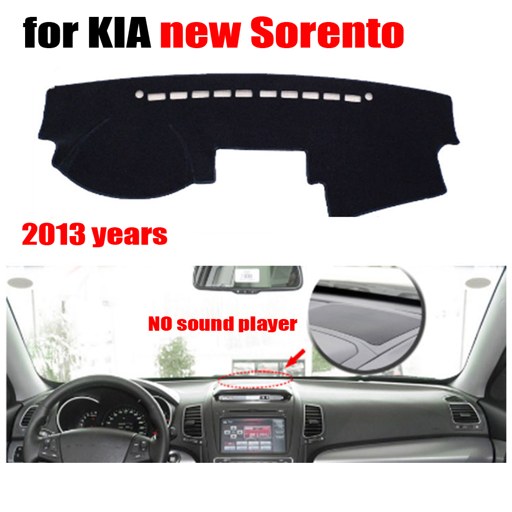 <font><b>Car</b></font> dashboard <font><b>cover</b></font> <font><b>for</b></font> <font><b>KIA</b></font> New <font><b>Sorento</b></font> <font><b>2013</b></font> Low Configuration Left hand drive dashmat pad dash <font><b>covers</b></font> auto accessories image