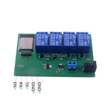 ESP32 4 Channel WiFi Bluetooth Relay Module 6V 750mAh Phone APP Remote Control for Android IOS все цены