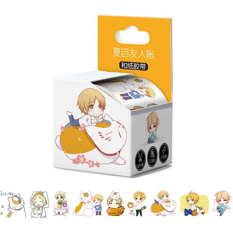 100 boxes/lot Anime One Piece Natsume Yuujinchou Naruto Amore In Diretta Tokyo Ghoul Attacco su Titano Nastro GIOCATTOLO Washi nastro di Carta 40 millimetri * 5 m-in Adesivi da Giocattoli e hobby su  Gruppo 2