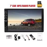 EinCar 7 ''2 Дин Радио мультимедийный плеер gps навигации Камера Bluetooth MP4 MP5 стерео аудио Авто Руль бесплатная карта