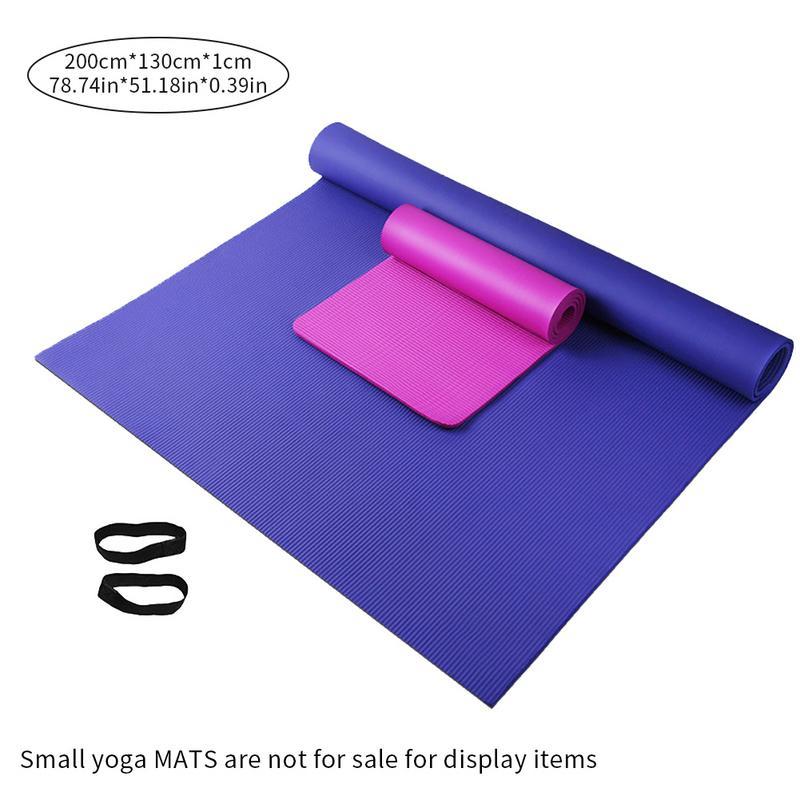 Haute qualité tapis de Yoga Super épais inodore antidérapant tapis d'exercice 200*150/130*10 MM pour bébé ramper danse Fitness