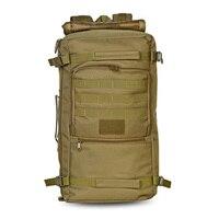 60L Military Tactical Backpack Shoulder Bag Sport Bag Oxford Nylon Backpack Outdoor For Hunting Camping 3 Colors