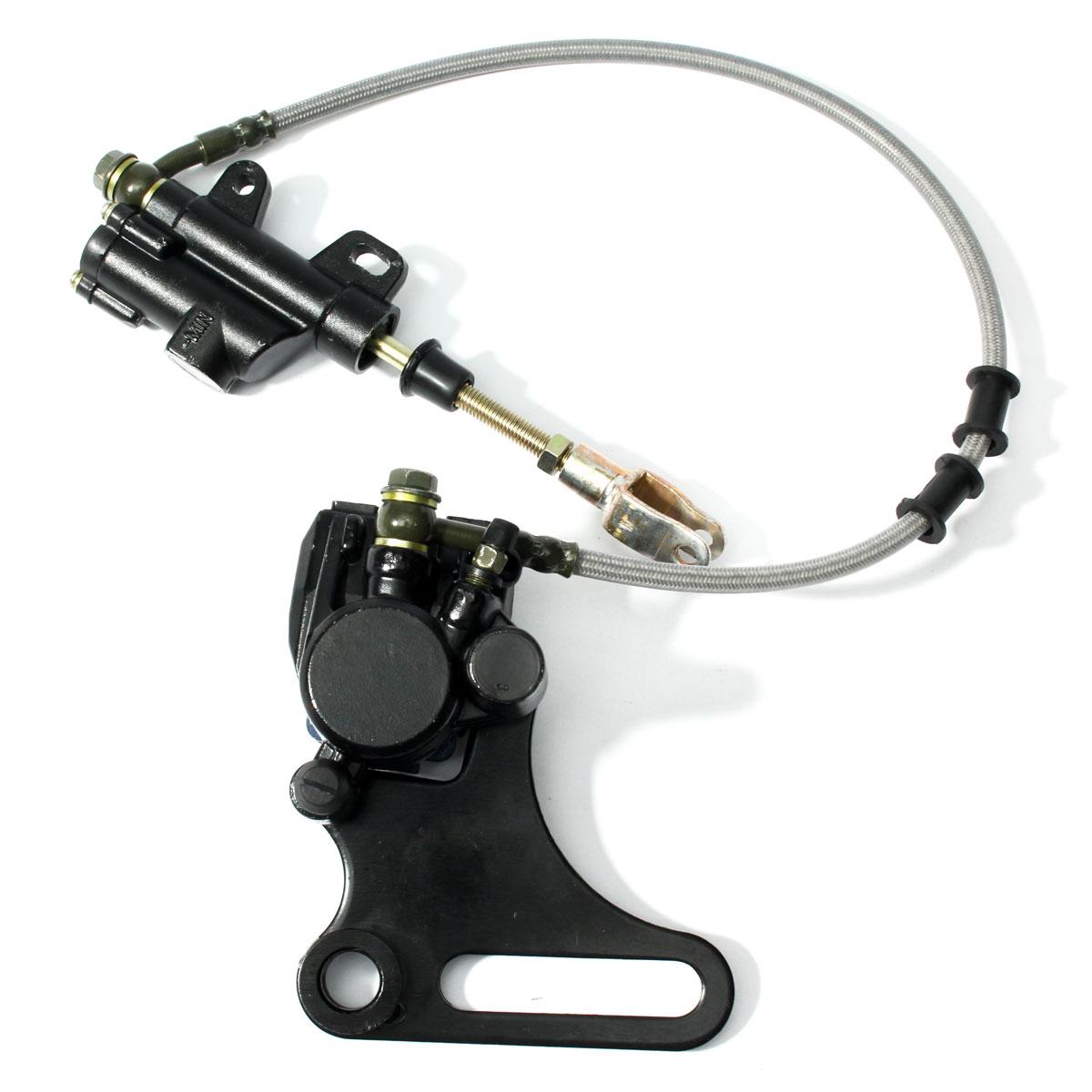 15 мм задние дисковые тормозные системы суппорт колодки для 125cc 140cc Pit Dirt Bike ATV гидравлический задний тормозной суппорт
