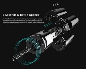 Image 4 - מקורי HUOHOU יין פותחן Usb טעינה חשמלי בקבוק פותחן מטבח כלי Creative יין בקבוק פותחן מxiaomi youpin