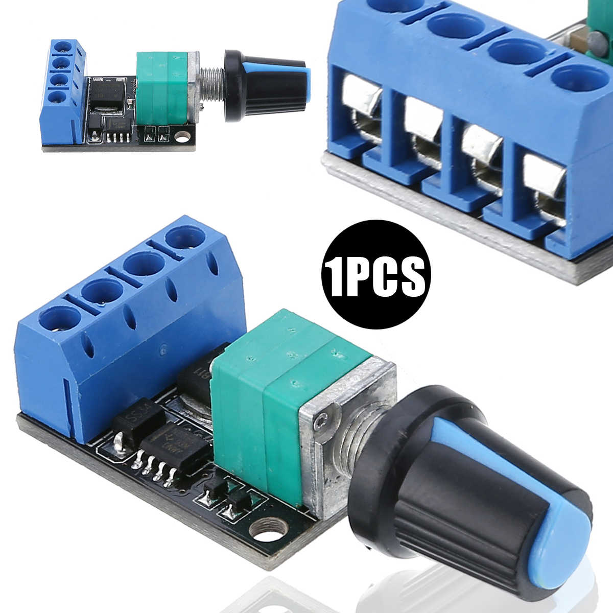10A 5 V-16 вольтового источника электропитания постоянного тока Скорость контрольный переключатель светодиодный диммер контроллер постоянного тока мотор Скорость контрольный переключатель