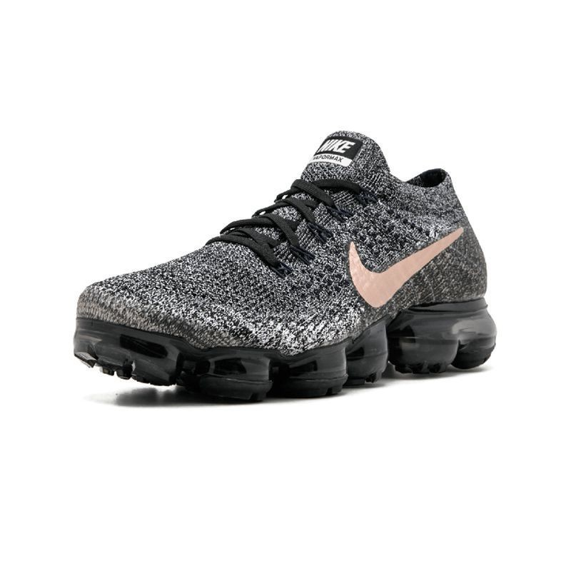 size 40 56f5a 0a07e US $86.7 49% OFF|Nike AIR VAPORMAX FLYKNIT Breathable Men's Original New  Arrival Running Shoes Dark Grey Sports Sneakers #849558 010-in Running  Shoes ...