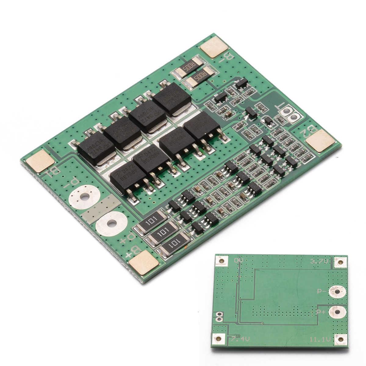 リチウムイオン保護ボードモジュール 3S 40A リチウムイオンリチウム電池チャージャー Bms 保護充電ボード電子用品