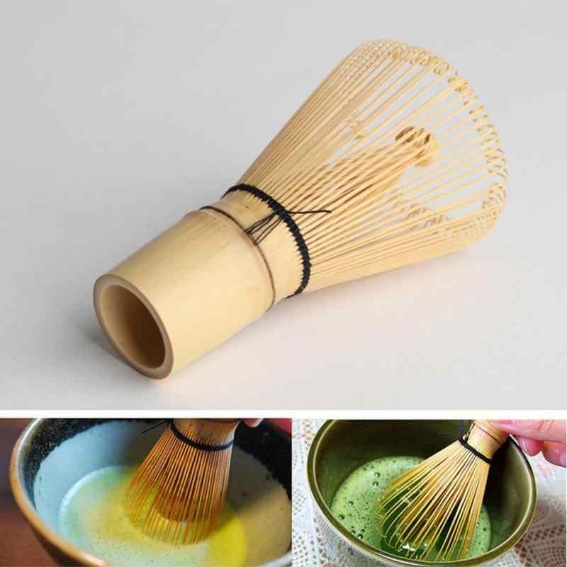 Gaetooely Fouet a The de Matcha au The Vert Fouet a The Chasen de Bambou Fouet a The en Bambou pour Ceremonie du The Professionnel Matcha en Poudre Ustensile de Cuisine