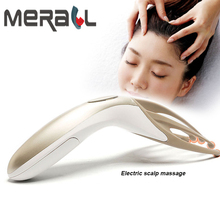 Electric Head Massager Comb Headache Stress Brain Relief Finger Handheld Massage Comb Relax Massager Head Scalp Massage Tool hand grasping four finger roller massage head comb foot soles limbs body applicable massage