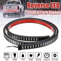 60 inch Car Trunk Sequential LED Strip Turn Signal Switchback Indicator Reverse Light DC 12V 216LED IP67 Waterproof LED Strip