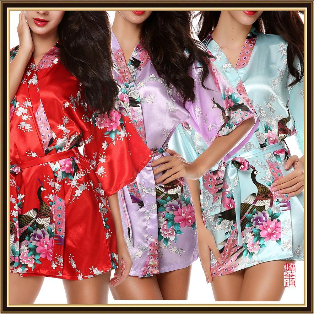 Sexy Comtumes Woman Summer Dress Japanese Yukata Bathing Robe Japanese Style Kimono Party Nightgown Pajamas Spa Massage Gown