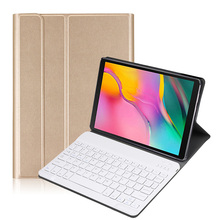 цена на Bluetooth keyboard case for 2019 Samsung Galaxy Tab A 10.1 tablet SM-T510 SM-T515 Removable wireless keyboard tablet Accessories
