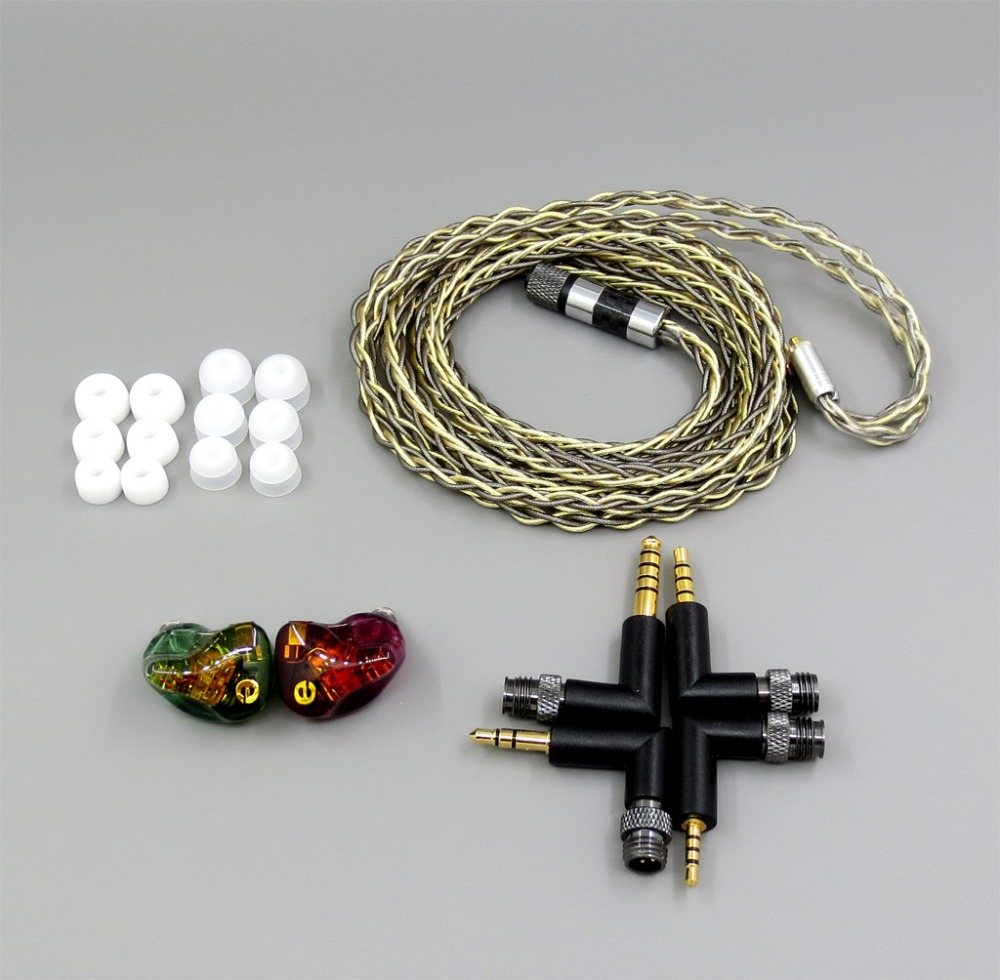 LN006261 6 unités haut-parleur BA Armature dans l'oreille écouteur Fit pour lotoo patte pico PAW5000MKII or cayin N5II I5 X7 X3 M7 X5 X1 Fiio