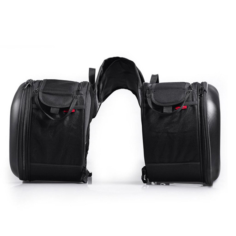 2 pièces universel Moto selle sacs Motocross queue sacs Moto sac chevalier casque sac Moto pour Honda pour Suzuki pour Kawasaki